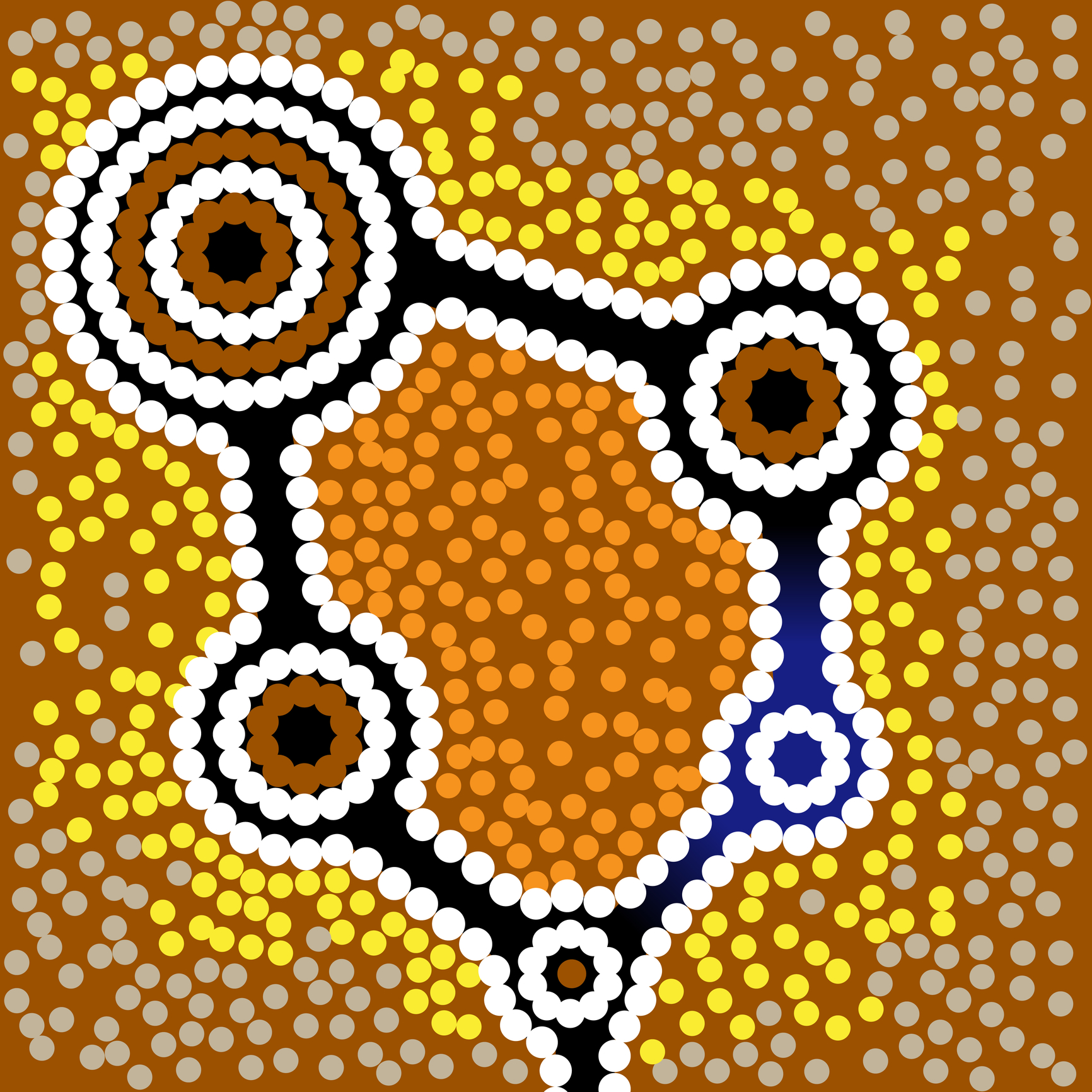 aboriginal-art-vector-background